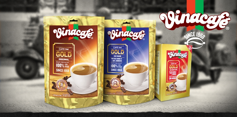 Vinacafe VG 3in1 - Gold